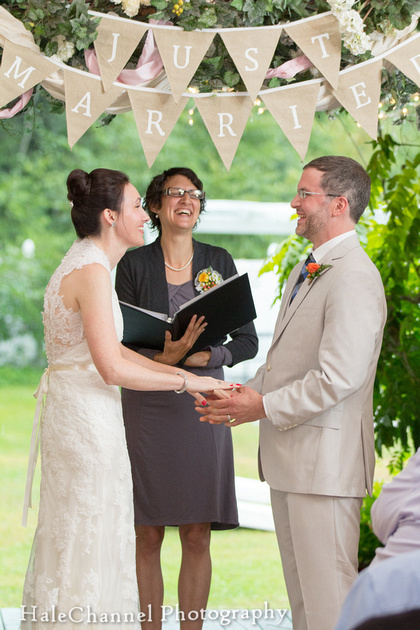 Megan Barber Officiant Farm Wedding